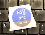 Naklejka z tagiem NFC