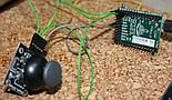 Analog joystick connected to pyboard