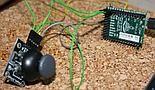 Joystick analogowy podłączony do PyBoard