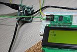 PyBoard with UART controlled LCD display