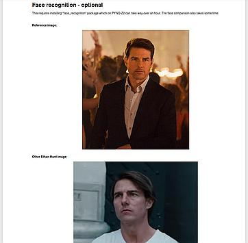 Let's check if Tom Cruise is Ethan Hunt