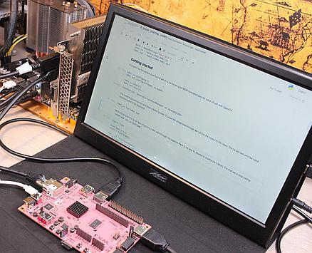 Dual display setup with PYNQ-Z2