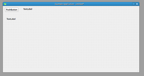 I start by dragging one button and two labels - one for image and one for image path