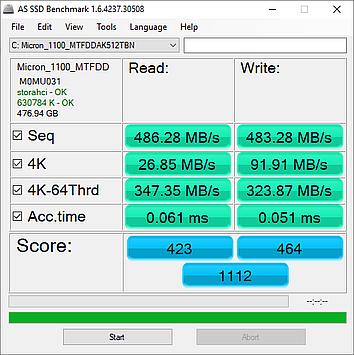 Micron 1100 SSD